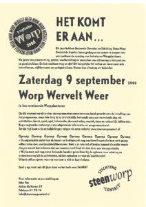 Wervelend Worp 2006