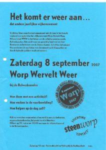 Wervelend Worp 2007