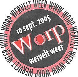 Logo Wervelend Worp 2005