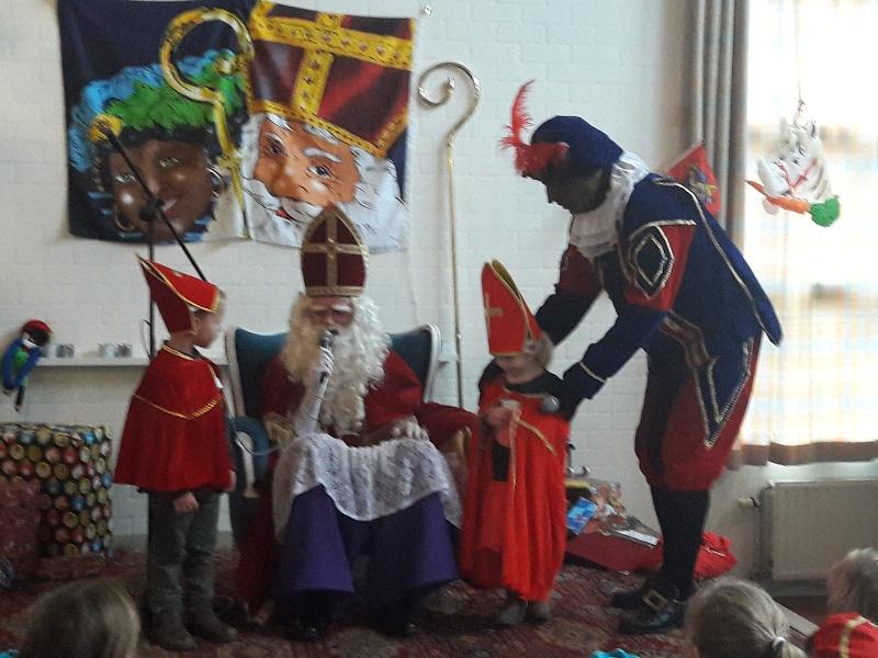 Sinterklaas in 't Hovenhuus